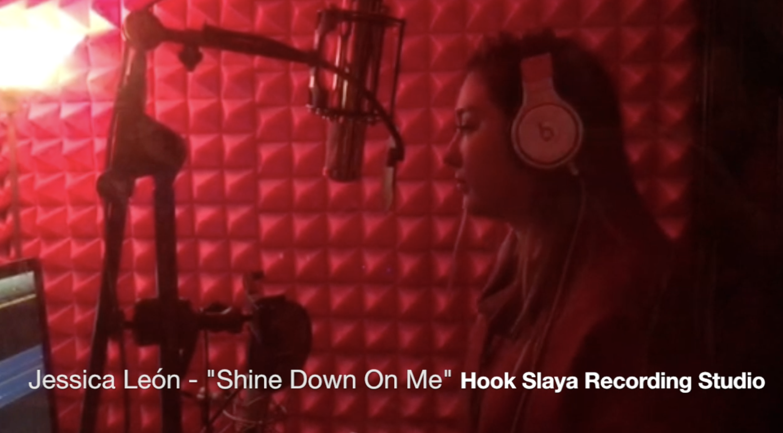 "Jessica León – ""Shine Down On Me"""